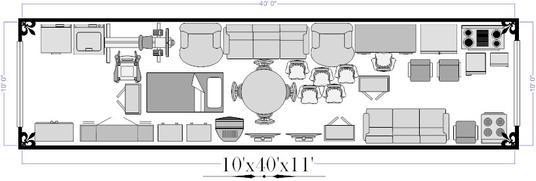 10x40 Self Storage Unit
