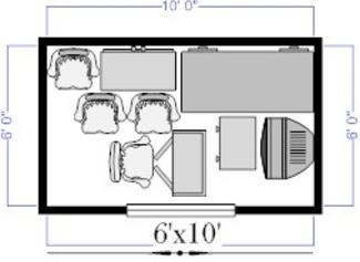 6x10 Self Storage Unit