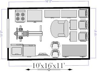 10x16 Self Storage Unit