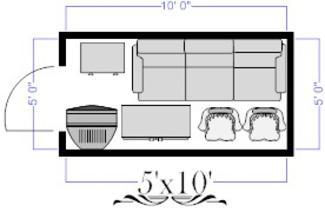 5x10 Self Storage Unit