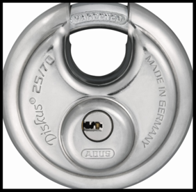 ABUS DISKUS Lock Storage Unit Protection