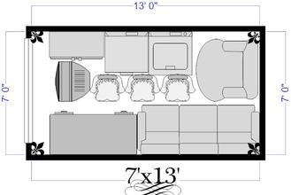 7x13 Self Storage Unit