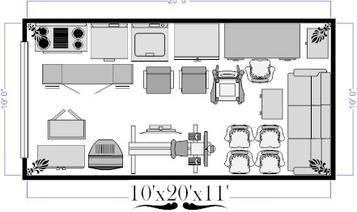 10x20 Self Storage Unit