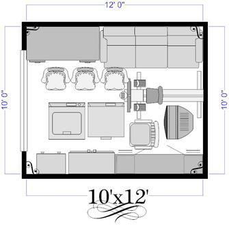 10X12 Self Storage Unit