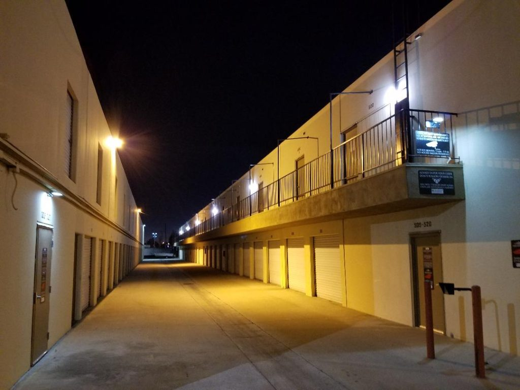 Guardian Storage Fullerton Security Lighting