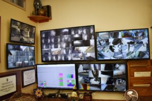 Security cameras used in storage units in Fullerton, CA