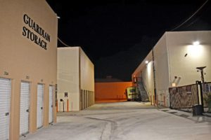 Guardian Storage Fullerton Anaheim Gate Security Lighting