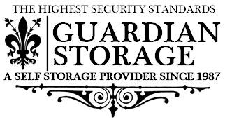 Guardian Storage Fullerton Anaheim area CA Expanded Logo